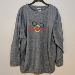 Walt Disney world Mickey gray sweatshirt